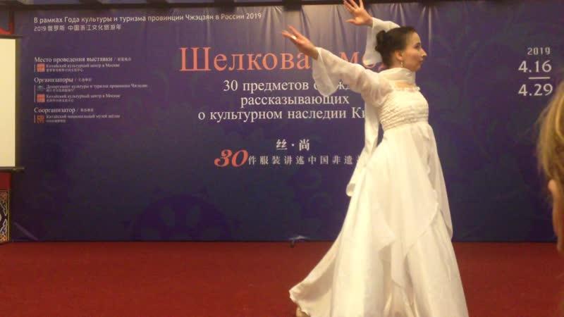Китайский танец Возрождение из небытия