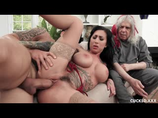 Lily Lane - Lilys Chauffeur Gives Her A Real Cock To Fuck [All Sex, Hardcore, Blowjob, Cuckold]