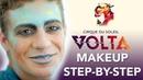Stunning Free Spirit Makeup Step by Step Tutorial from our newest show VOLTA Cirque du Soleil
