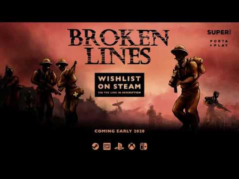 Broken Lines Gameplay Trailer 2019