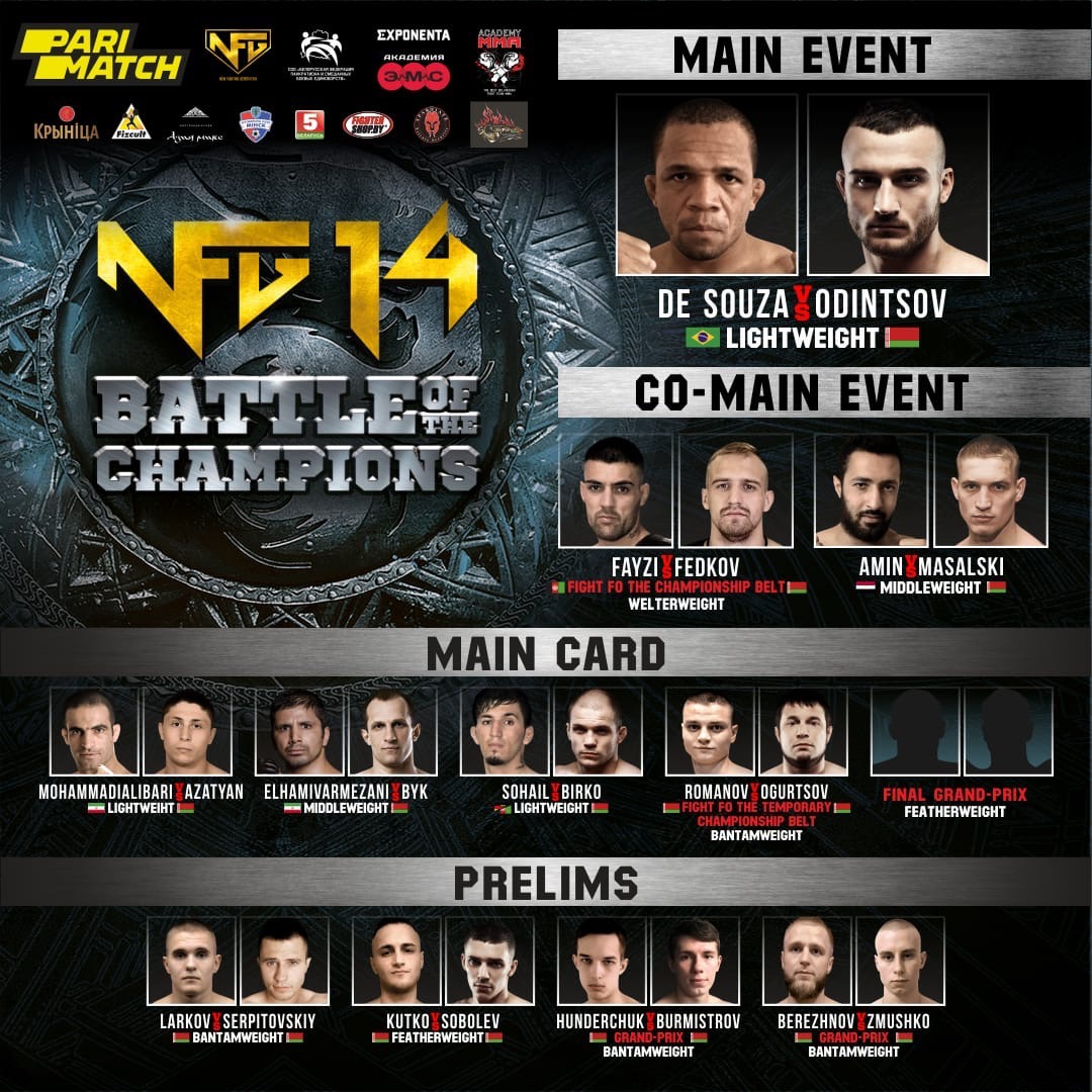 NFG 14: Battle of the Champions live stream
