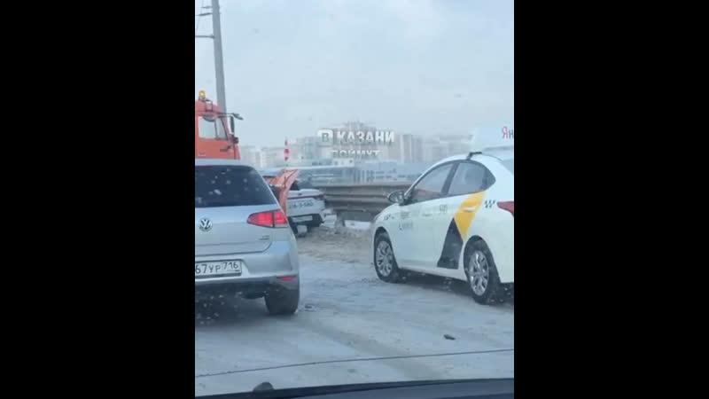 ДТП на третьей транспортной дамбе