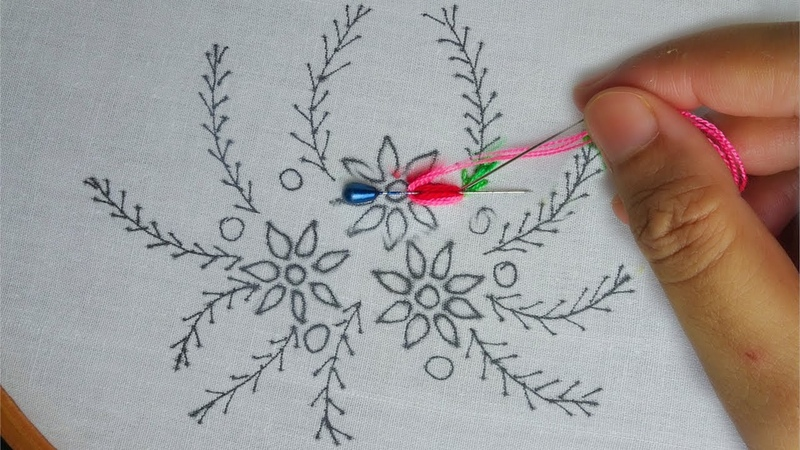 Hand embroidery: flower embroidery,Effective Ways on How to Embroider by Hand