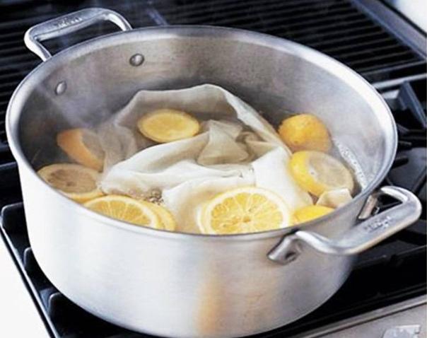 Лимон - старое средство для стирки носков