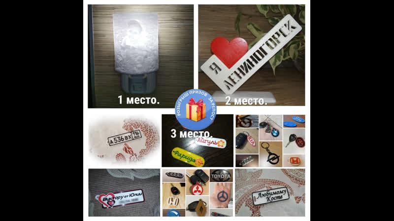 Розыгрыш Подарков от 3D Печать в Лениногорске
