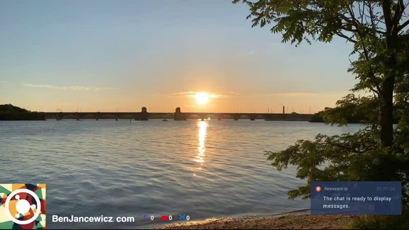 Watch the sunset with me from Ferry Bar Park Baltimore