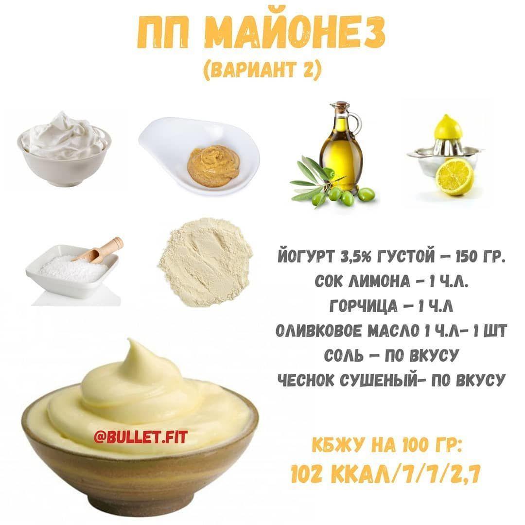 Подборка рецептов правильно майонеза