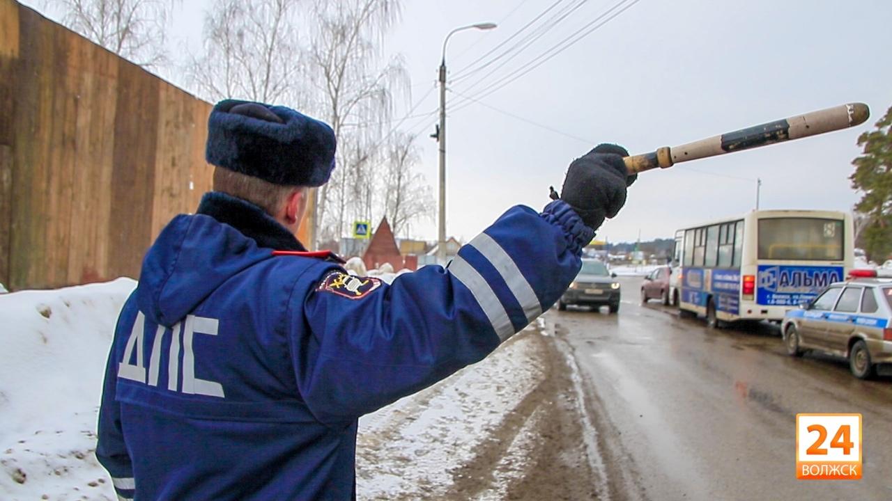В Волжске сотрудники Госавтоинспекции проверят соблюдение водителями правил перевозки детей