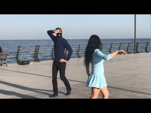 Девушка Танцует Супер Красиво 2019 Новая Лезгинка С Красавицей Из Азербайджана В Баку ALISHKA MELEK