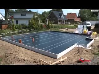 Так немцы делают фундамент - Строим дом своими руками