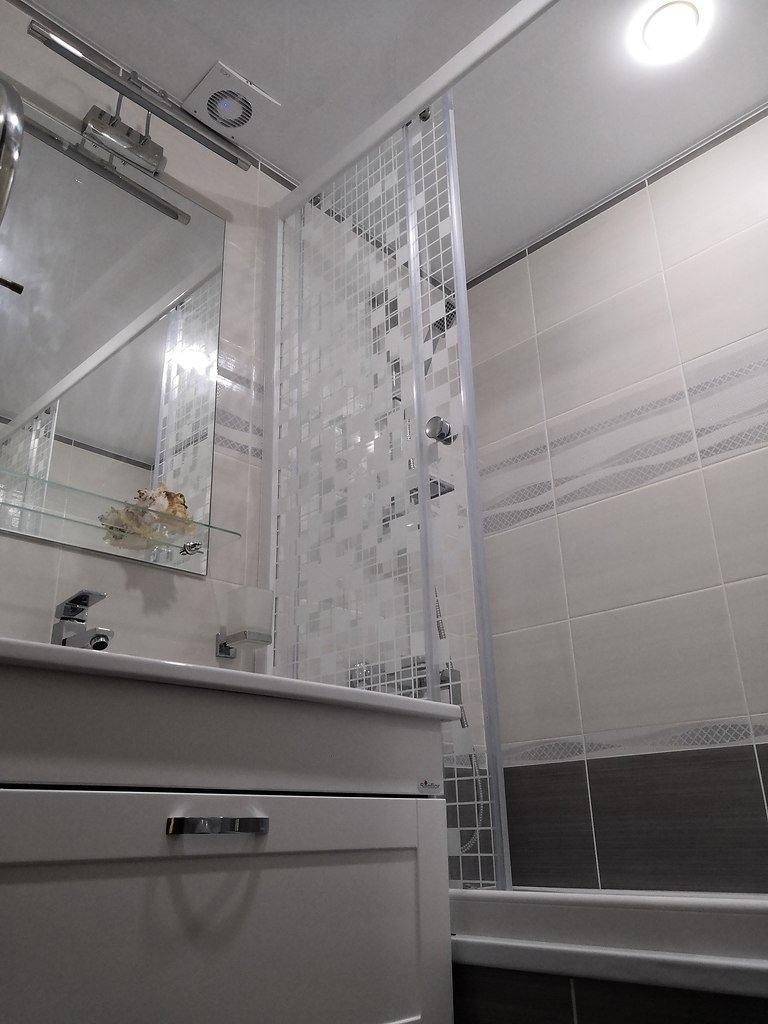 Ремонт ванной комнаты - очень довольны результатом. А вы что скажете?