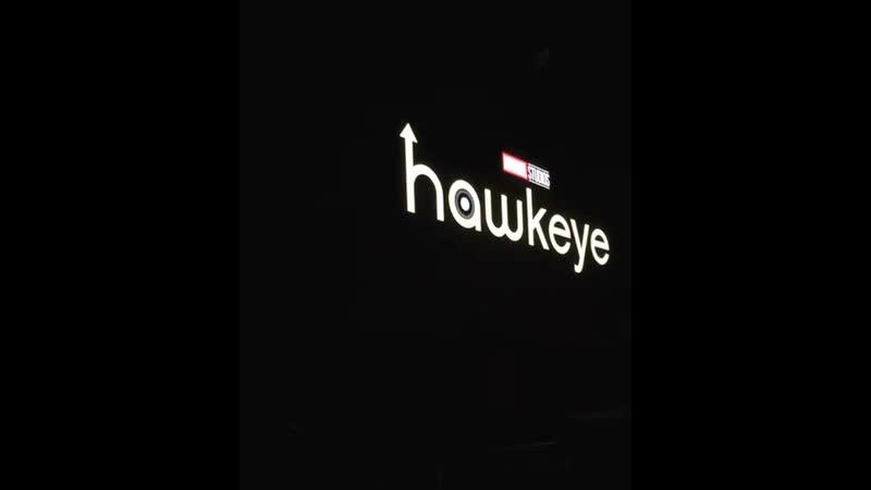 Интро сериала Hawkeye