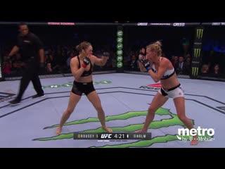 Вспоминаем бой - UFC 204: Холли Холм - Ронда Роузи