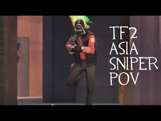 UGC TF2 Asia sniper POV.5 VS cORjA? pl_upward