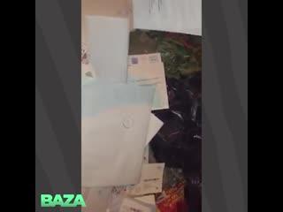 В Подмосковье жильцы нашли свою почту в мусорке
