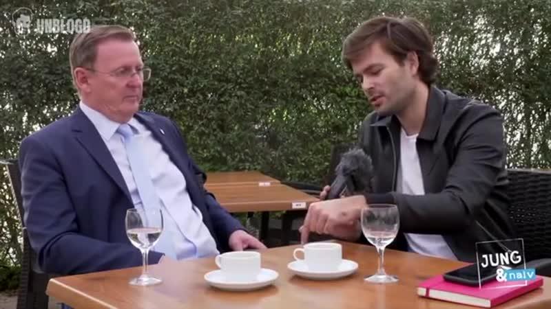 Tilo Jung vs. Ramelow_ Wenn einem Linken das Interview zu link(s) wird [360p]