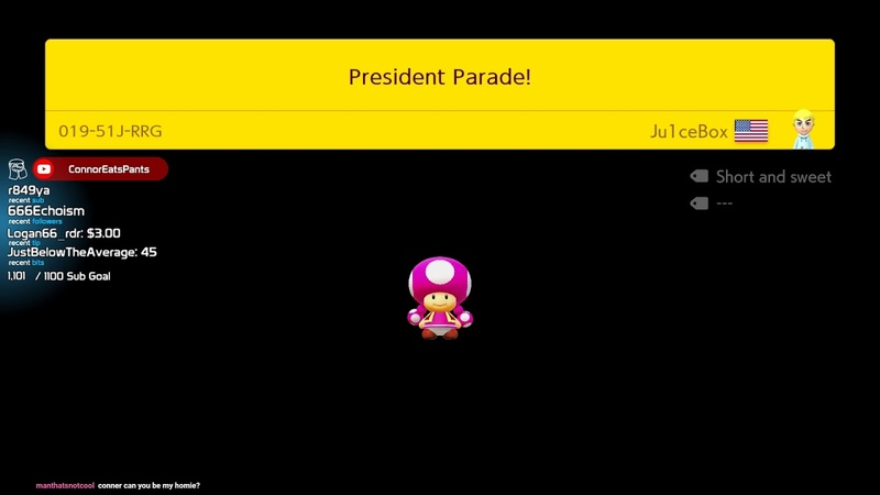 Ode to my favorite President in Mario Maker