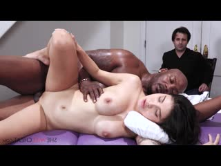 SheWillCheat E114 Brenna Sparks-Sexy young Asian fucks a hot BBC in front of her cuckold husband She Will Cheat Wife Horny Busty