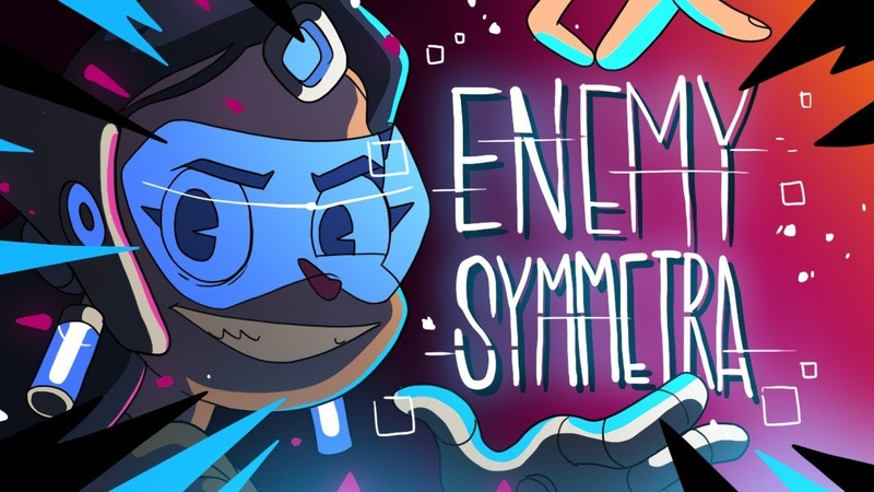 ENEMY SYMMETRA OVERWATCH ANIMATION