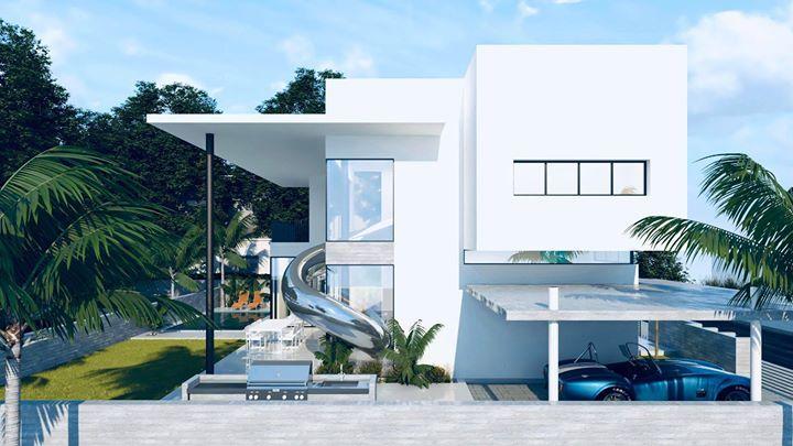 Современный семейный дом от Томера Коэна
