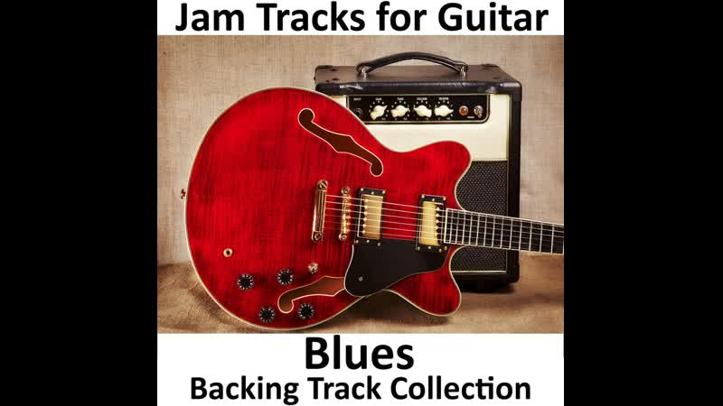 Blues backing track in Clapton style