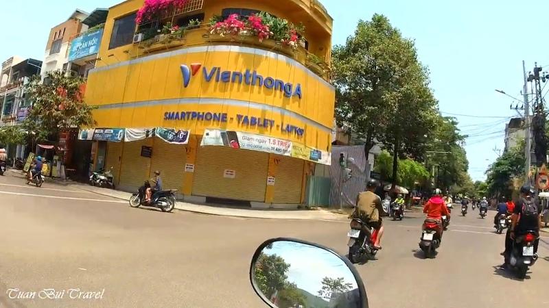 Đường Nguyễn Thái Học Lê Hồng Phong Nguyễn Huệ thành phố Quy Nhơn Bình Định ngày nay