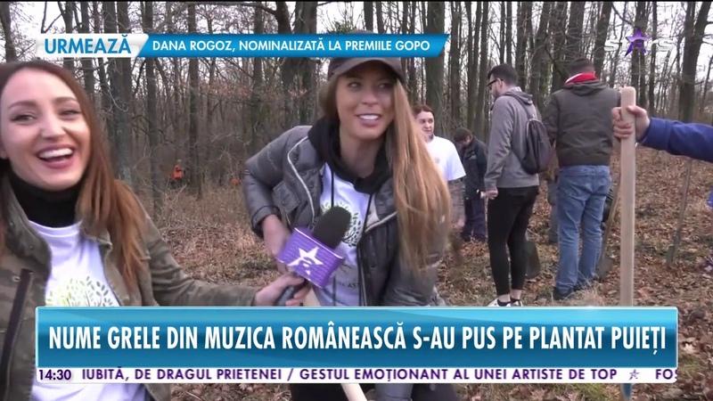 Star News. Nume grele din muzica românească s-au pus pe plantat puieți