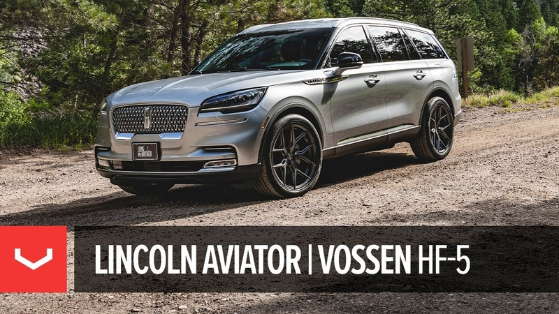 First-Ever Lincoln Aviator   Hybrid Forged HF-5 Wheel