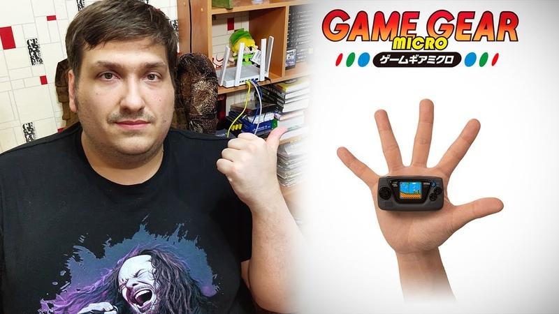 Game Gear Micro ЭТО новая консоль от SEGA