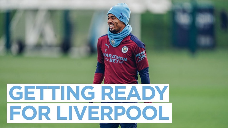 FIRST TEAM TRAINING | GETTING READY FOR LIVERPOOL