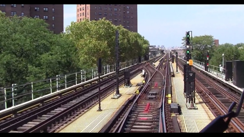 ᴴᴰ R42 J Train RFW Footage - Broadway Junction-Essex Street FULL EXPRESS