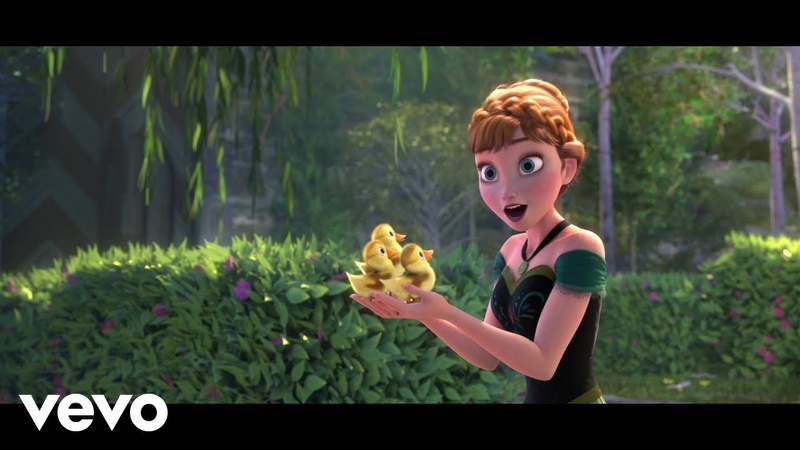 Kristen Bell Idina Menzel For the First Time in Forever From Frozen Sing Along