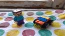 Стив собирает мини Лего машинку Лего самоделка/инструкция