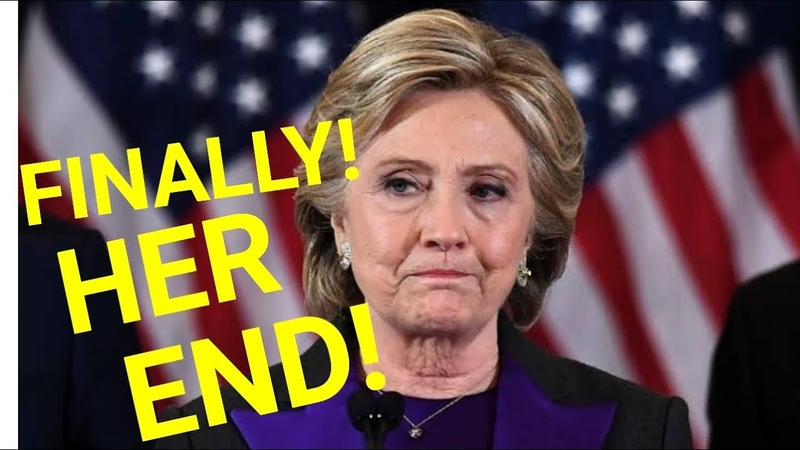 THE EVIDENCE ARE OVERWHELMING Hillary Clinton Finally Heading to Prison