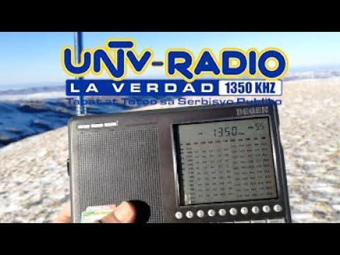 MW DX 1350KHz UNTV Radyo La Verdad (PhilippinesMalabonMuzon 10 kW)
