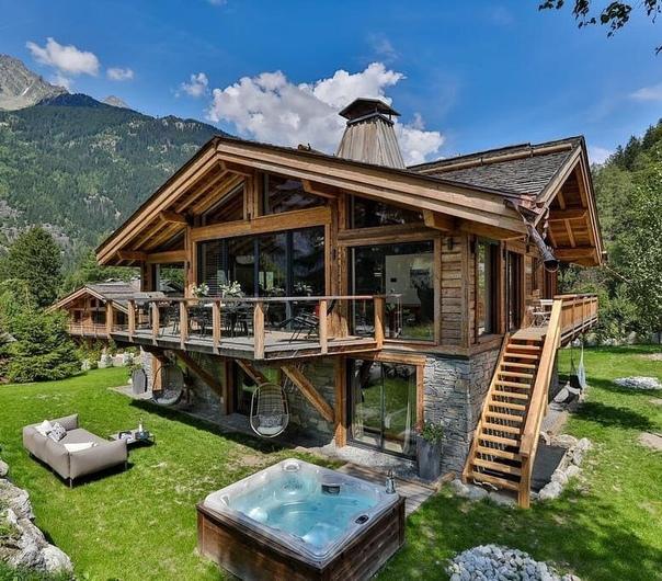 Хотели бы пожить в таком доме (источник: gofazenda)