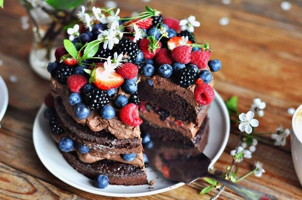"""""""Очень шоколадный торт"""""""
