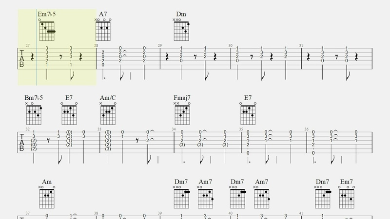 A day in the life of a fool - Manhã de Carnaval Guitar chords