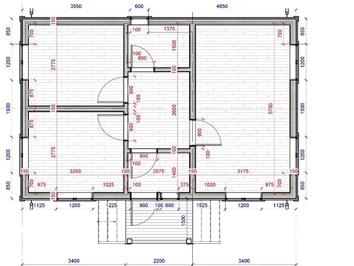 Проект каркасного дома 6х9 СВОИМИ РУКАМИ. Часть 2 (с подробным текстом и картинками), изображение №7