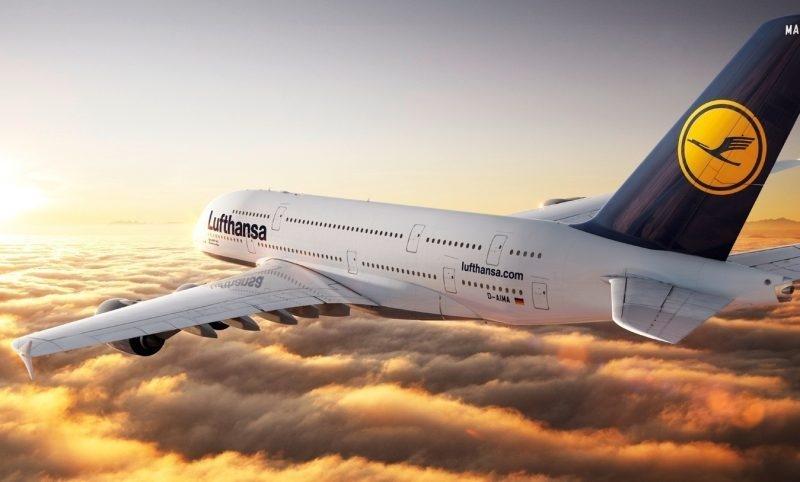 Самолёт Lufthansa