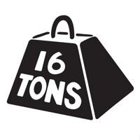 Логотип Клуб 16 Тонн