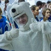 """Логотип Отряд Снежного Десанта """"Белые медведи"""" (Закрытая группа)"""