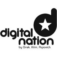 Логотип DIGITAL NATION