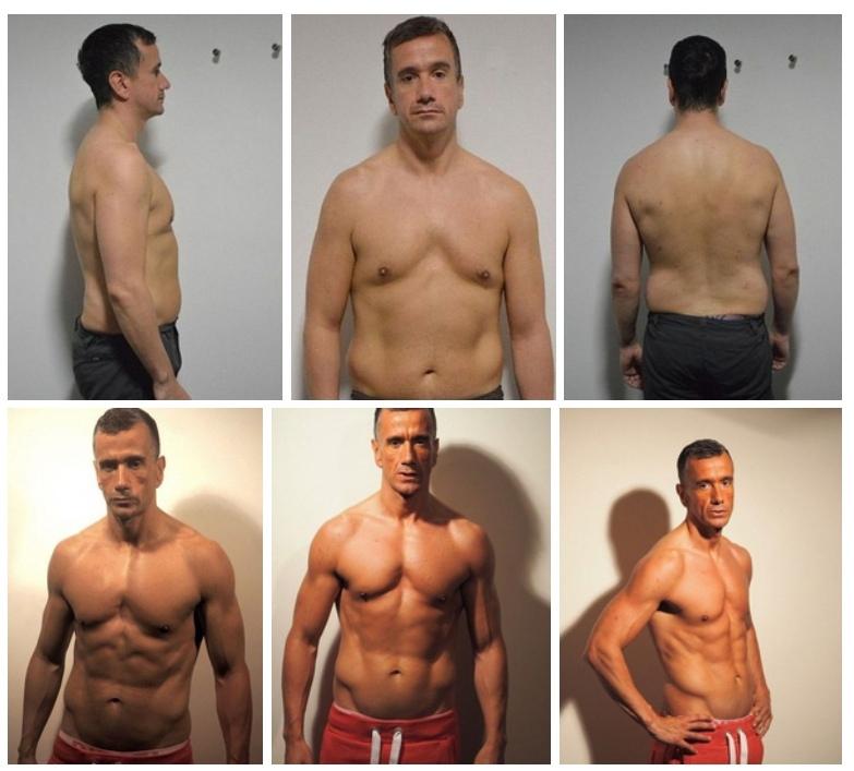 41-летний англичанин привел себя в прекрасную форму за 2,5 месяца