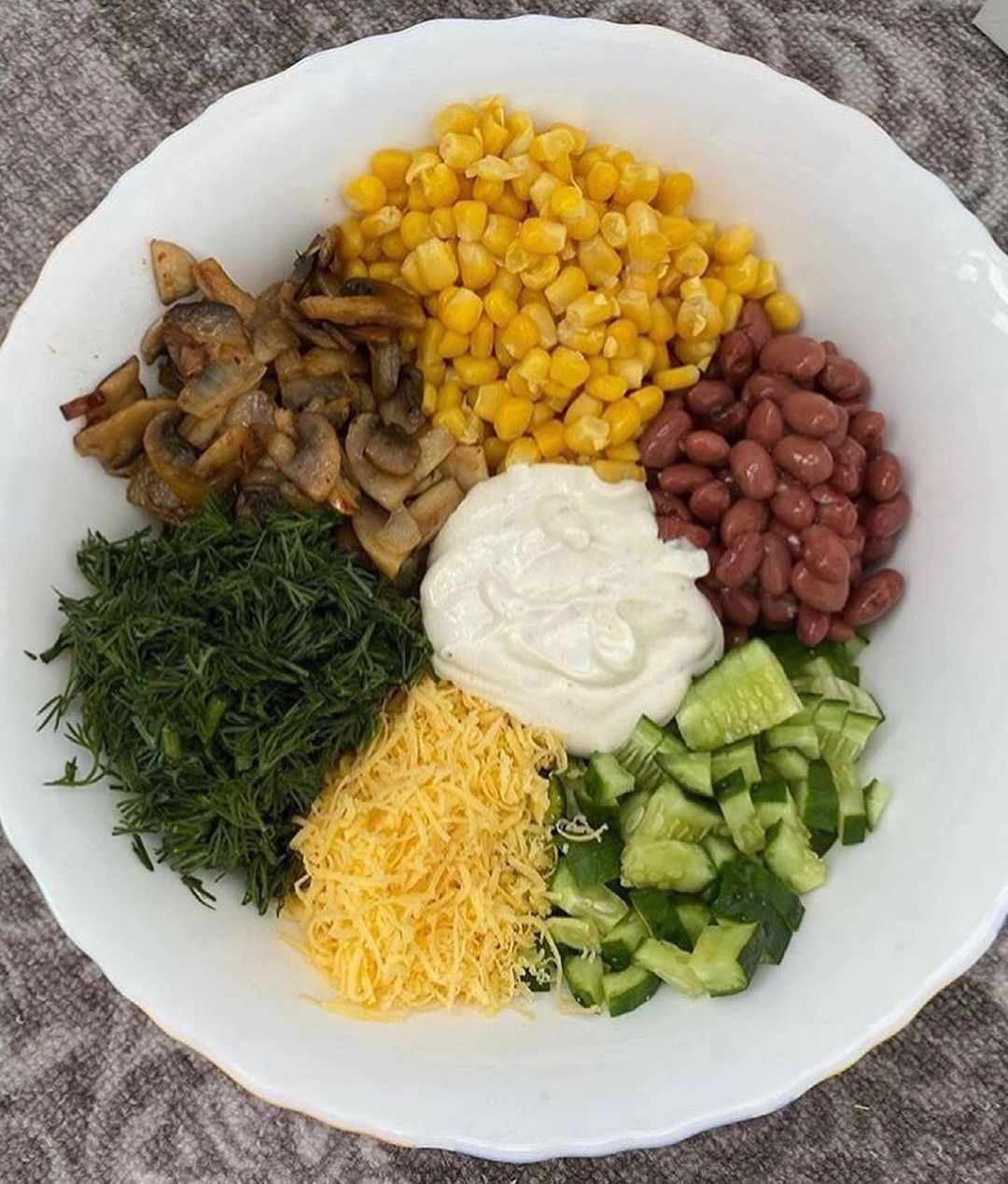 Вкусный летний салатик