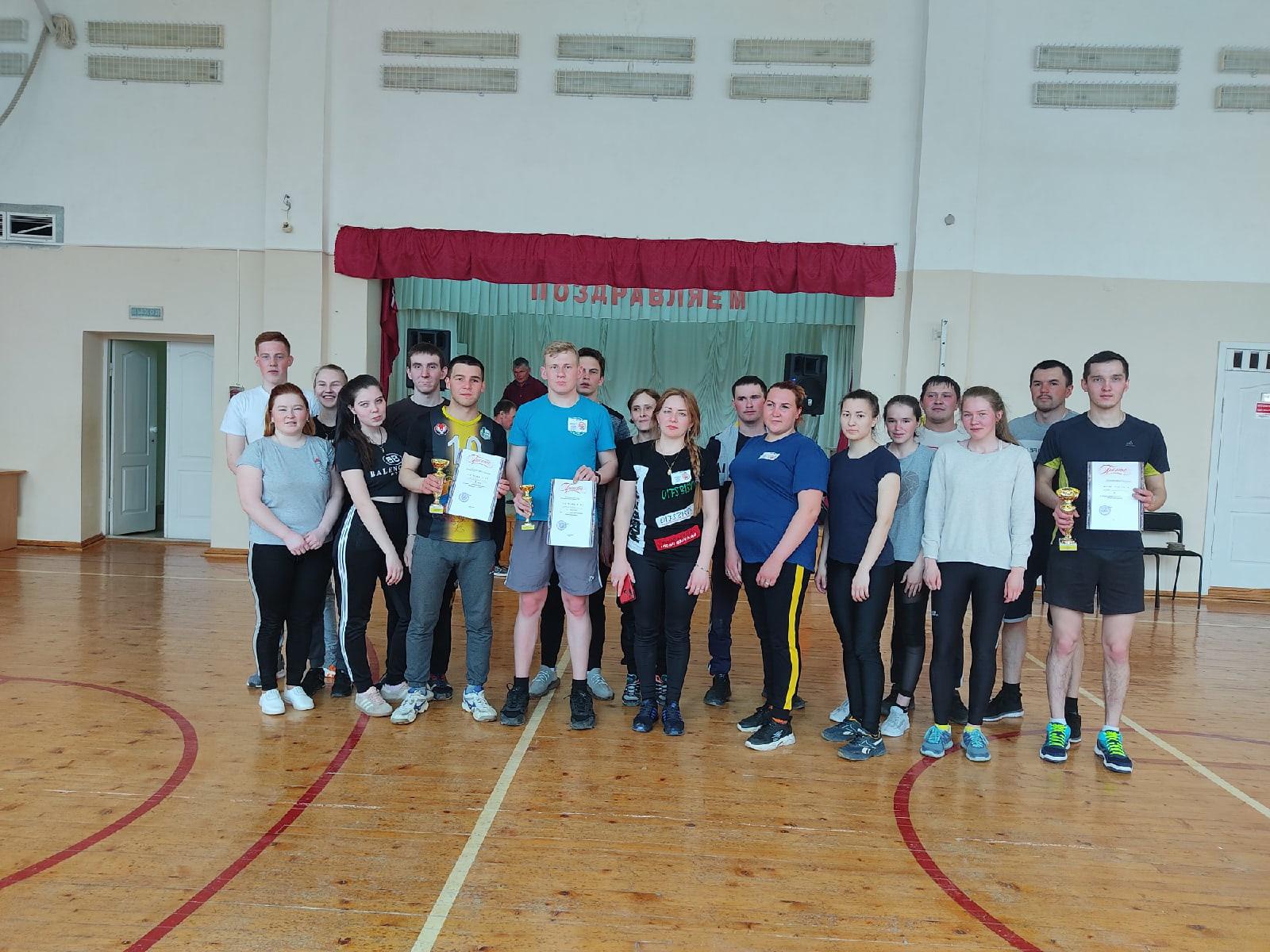 Молодёжь Можгинского района отдыхает активно! В спортивном