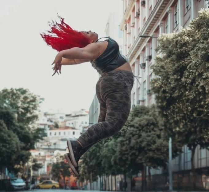 Тайна Моранго — балерина с нестандартными формами, которые не мешают заниматься ей любимым делом