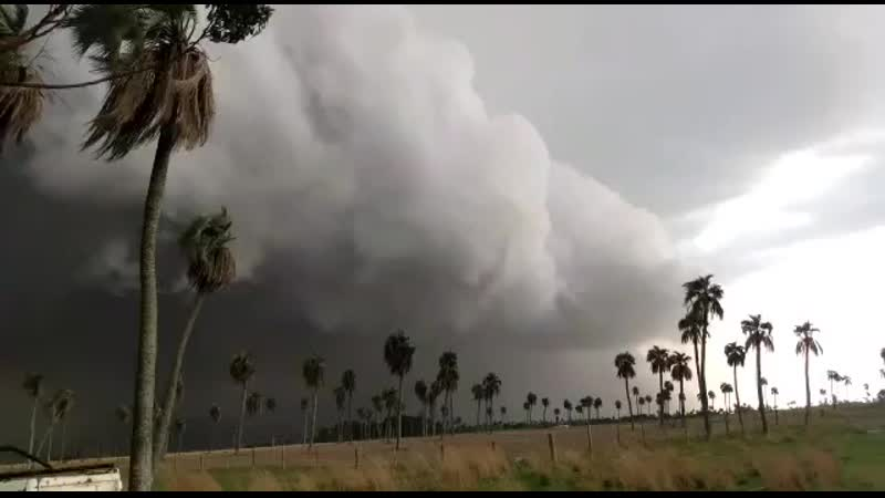 Radio Sudamericana on Instagram ¡Impresionantes imágenes Goya Así llegaba la tormenta que afectó a varias localidades del in