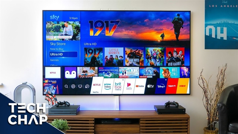LG OLED GX 77 inch TV Upgrade The BEST TV Ever The Tech Chap