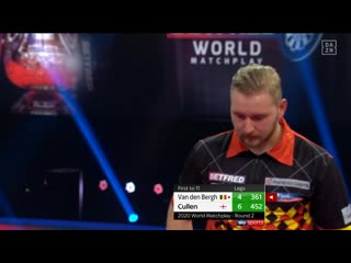 Dimitri Van den Bergh vs Joe Cullen (PDC World Matchplay 2020 / Round 2)